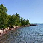 Shoreline near the Sea Villas