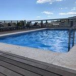 Rooftop pool.....