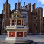 A wine fountain, a copy of one that Henry VIII had made - for me it beats a chocolate fountain -