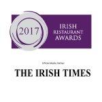 2017 Irish Restaurant Awards Winner