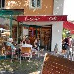 Cafe Konditorei Luckner: the Garden