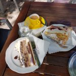 Cafe Konditorei Luckner: Our Black Forest cake & Coffee