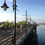 Friday early morning run on the Riverwalk