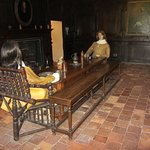 Another historic room in Littlecote House.