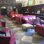 Another historic room where guests can relax