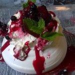 Pavlova, un dessert tout en sucre