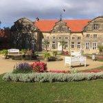 Barockgarten am kleinen Schloss; wenige Meter vom Schlosshotel entfernt