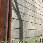 dinos scratches on the wall - Jurassic World