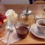 Fruit coffee chocolate