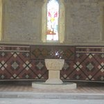 The font and leaded window above.