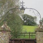 Entrance gateway.