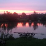 Early morning fishing.