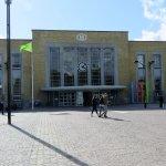 Railway Station Brugge, main entrance