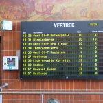 Railway Station Brugge, timetable
