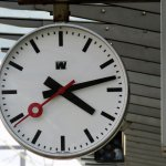 Railway Station Brugge, Main clock