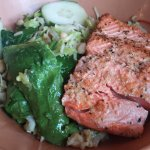 Juli's Rice Saute with Salmon
