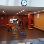 Gym - stretching area