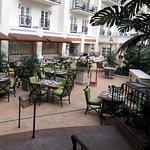 patio at Ravello's - an interior garden patio