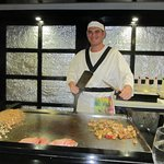 Best cook, had fun at the japanese.