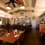 We offer table, booth, and bar seating.