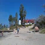 Point Betsie Lighthouse from the beach