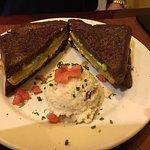 Southern Slammer Sandwich. Yummy!