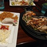 Fajita was delicious and a lot of food.