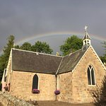 Afternoon rainbow in Speyside.