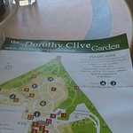 Enjoying a drink in the Restaurant at Dorothy Clive Garden