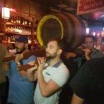 Franconia 200 year old keg with Oktoberfest in it!