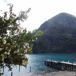 Puerto Blest: aguas turquesa