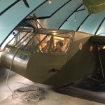 D Day glider walk through exhibit