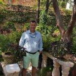 Standing in the garden of Eden at Joe T's