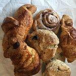 Croissants, Scones and Cinnamon Roll