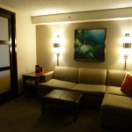 Seating area in our room