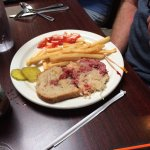 3 of the 6 of us ordered their Reuben Sandwich for $10.95 each and this was the tiny amount of C
