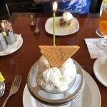 Birthday cake Ice cream!