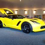 2015 Corvette Z06 Coupe: First Thing You See on Entering Museum