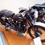 Early 1950s Vincent Black Shadow Motorcycle