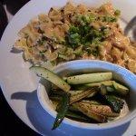 Shrimp Roban & Zucchini.