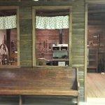 Cabin lLiving /dining / kitchen - Pioneer Museum of Alabama
