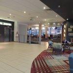 roomy lobby