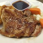 grilled chicken with teriyaki sauce
