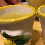Homemade limoncello!