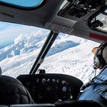 Awesome view no matter which seat you are in with a lovely pilot