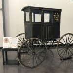 Old mail wagon