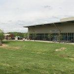 Lower museum building
