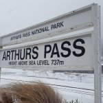 Snow in Arthur's Pass