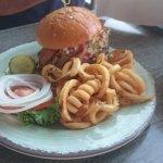 Bacon bleu burger