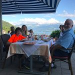 Out on the terrace at Park Hotel Oberhofen